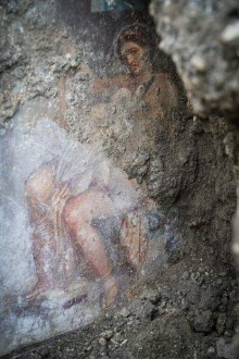 Leda discovered in Pompeii
